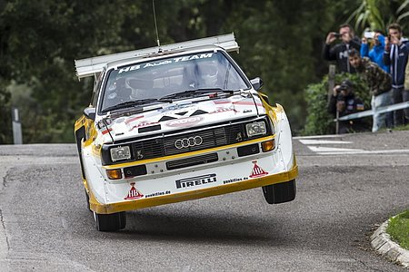 Audi S1 - Rally Legend 2013