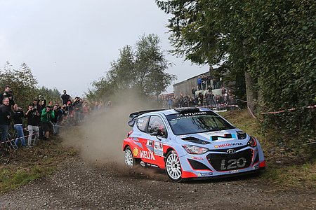 Thierry Neuville - East Belgian Rallye - Bild: Willy Weyens
