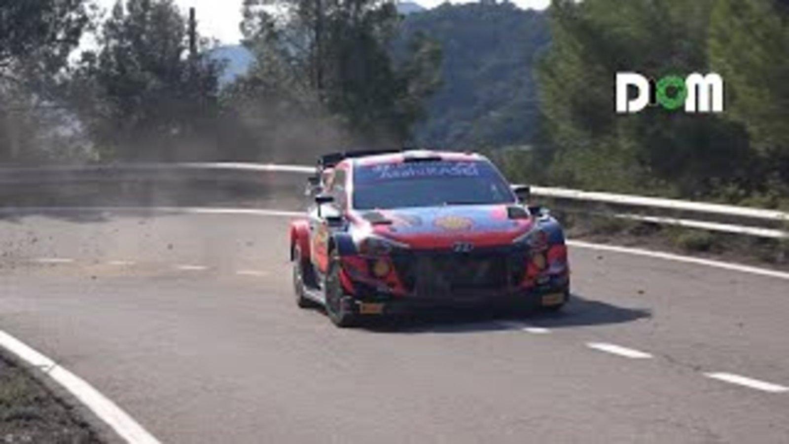 Rallye-Spanien-Shakedown