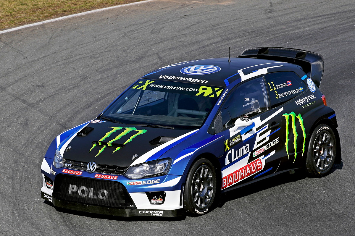 Petter Solberg Polo RX 2017