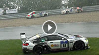 Video 24h-Rennen 2016 - Crash Rain Chaos