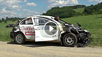 Video Mitsubishi Evo X Fire