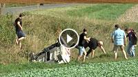 Video Rallye Niedersachsen 2016 - Unfall Hermann Gaßner jr.
