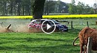 Video Ausrutscher Yannick Neuville Rallye Sulingen