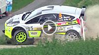 Video Hessen Rallye Vogelsberg 2017 - Unfall René Mandel
