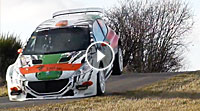 Video Tests Saarland Pfalz Rallye 2017 - Shakedown