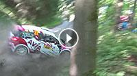 Video Sachsen-Rallye 2017 - Melanie Schulz Ausrutscher