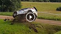 Video Rallye Estland 2016 - Crash Katsuta