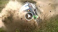 Onboard Aquaplaning @ Ypern-Rallye