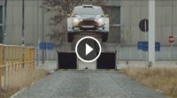 VIDEO Ford Fiesta R5 | Gymkhana at the Ford factory
