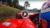 Onboard with David Hauser (Dallara GP2) - Glasbachrennen 2013