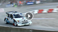Video Sebastien Loeb Peugeot 205 T16
