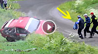 Video Opel Big Roll @ Ollin Sora Rally 2016