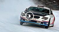 Video Andreas Aigner mit seinem BMW 650i auf Eis