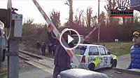 Video Rallye und Bahnübergang