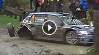 Video Skoda-Crash Spa Rally 2017