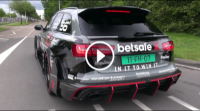 Video 1000HP Audi RS6 DTM