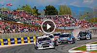 Video Rallycross-WM 2017 - Barcelona Finale