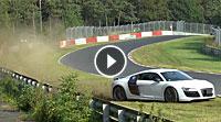 Video Audi R8 Nürburgring
