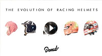 Video Evolution of Racing Helmets