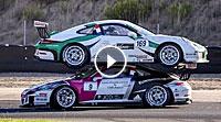 Video Funny Porsche Carrera Cup Crash