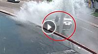 Video Verrückter Waschanlage-Unfall