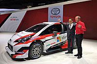 Galerie Toyota Yaris WRC 2017 Paris