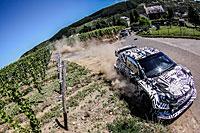 Galerie VW Polo R WRC 2017 Test - Rallye Deutschland