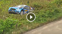 Video Rallye Deutschland 2016 - Camilli Crash