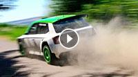 Video Rallye Deutschland Test Skoda Motorsport - Fabian Kreim