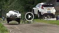 Video Finnland-Test Ott Tänak (Ford) & Marcus Grönholm (VW 2017)