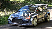 Video Hyundai WRC 2017 Test Dani Sordo