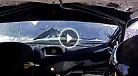 Video Crash Lorenzo Bertelli (Ford) Rallye Monte Carlo 2016