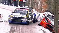 Video Rallye Monte Carlo Crash