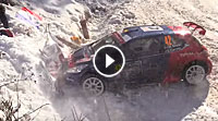 Video Crash Suarez Rallye Monte Carlo
