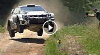 Video Andreas Mikkelsen Polo WRC 2017-Test Polen