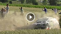 VIDEO Ypern-Rallye 2017 - Crash Ford Fiesta R5