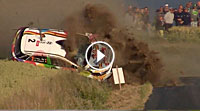 VIDEO Ypern-Rallye 2017 - Crash Thierry Neuville