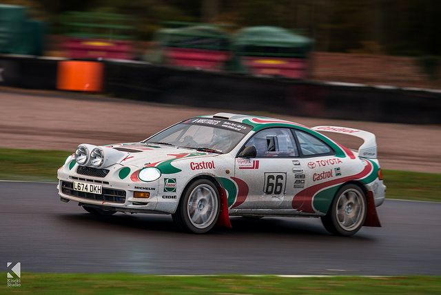 Toyota Celica GT Four ST205 Castrol Rally Car