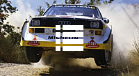 Classic Rallyevideos mit Audi, Lancia, Opel, Porsche, Gruppe-B
