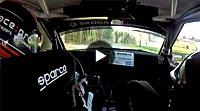 Onboard Mark Wallenwein Hessen Rallye Vogelsberg (WP12)