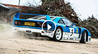 Video Drifting a Ferrari F40 GT | Farmkhana