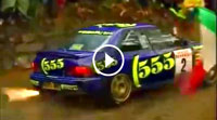 Video Subaru Impreza 555 - Max Attack Rallye San Remo