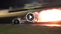 Mad Mike RedBull RX7 4 Rotor - Spitting Flames