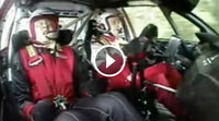 rally driver scares the hell out of co-driver! REALLY funny.