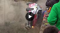 Video Rallye Spanien 2015 - Crash Ford Fiesta